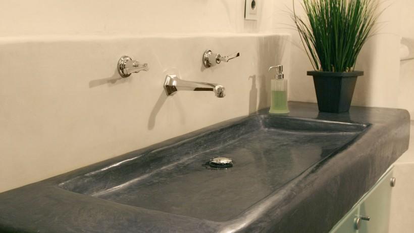 Tadelakt a fürdőben