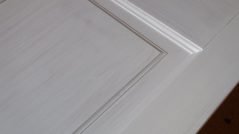 1/b. Az ajtó festése