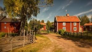 A svédvörös festék története