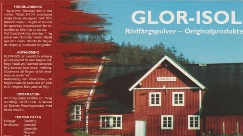 Forradalmian régi svédvörös festék